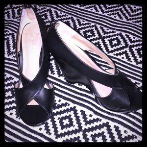 Nine West black heels Size 8.5